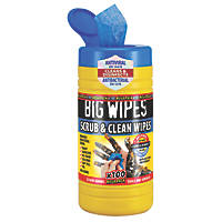 Big Wipes Heavy Duty Cleaning Wipes Blue 100 Pack
