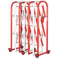 Armorgard IG4 Heavy Duty Expandable Barrier Red / White