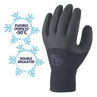 Skytec Argon Thermal Grip Gloves Black X Large