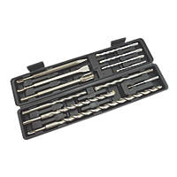 SDS Plus Shank Combination Drill Bit Set 12 Pieces