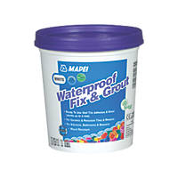 Mapei  Wall Waterproof Fix & Grout White 1.5kg