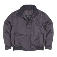"Site Burr Pilot Jacket Black XX Large 44-46"" Chest"