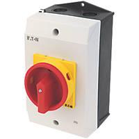 Eaton P1-32/I2H/SVB 3-Pole Padlockable Rotary Isolator 32A