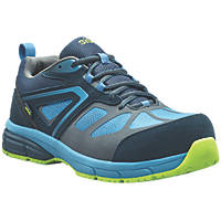 Site Eveite Metal Free  Safety Trainers Black / Blue Size 7