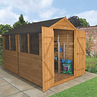 Forest 8' x 10' (Nominal) Apex Overlap Timber Shed