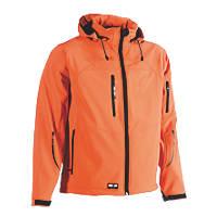 """Herock Poseidon Softshell Jacket Orange X Large 50"""" Chest"""