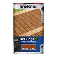 Ronseal Decking Oil Natural Cedar 5Ltr