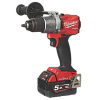 Milwaukee M18 ONEPD2-502X FUEL 18V 5.0Ah Li-Ion RedLithium Brushless Cordless ONE-KEY Combi Drill