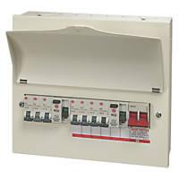 Wylex  13-Module 7-Way Populated  Dual RCD Consumer Unit
