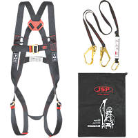 JSP Spartan Twin Tail Fall Arrest Kit with Lanyard 2m