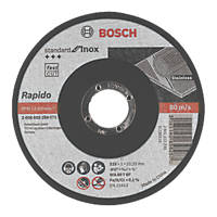 "Bosch  Cutting Discs 4½"" (115mm) x 1 x 22.23mm 10 Pack"