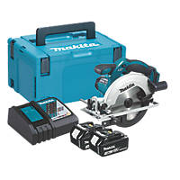Makita DSS611RFJ 165mm 18V 3.0Ah Li-Ion LXT  Cordless Circular Saw