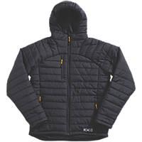 "JCB Trade Padded Jacket Black X Large 48"" Chest"