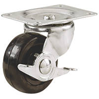 Select Heavy Duty Braked Swivel Castor 64mm
