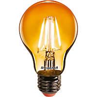 Sylvania Helios Chroma ES A60 Orange LED Light Bulb 4W