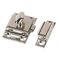 Cupboard Latch Nickel-Plated 54 x 54mm