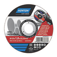 "Norton   Metal Cutting Disc 5"" (125mm) x 1 x 22.2mm"