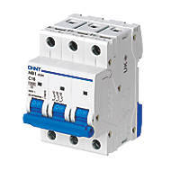 Chint NB1 16A TP Type C 3-Phase MCB