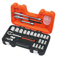 "Bahco S240 1/2"" Drive Socket Set 24 Pcs"