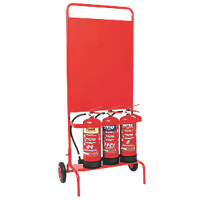 Firechief SVP1 Wheeled Extinguisher Stand
