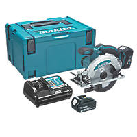 Makita DSS610RMJ 165mm 18V 4.0Ah Li-Ion LXT  Cordless Circular Saw