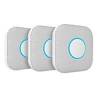 Google Nest A13 2nd Generation Smoke & Carbon Monoxide Alarm 3 Pack