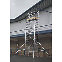 Lyte  Single Depth Aluminium Folding Work Tower System 5.1m