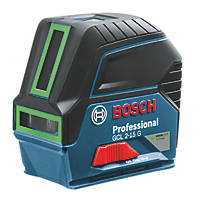 Bosch GCL215G Green Self-Levelling Cross-Line Laser Level