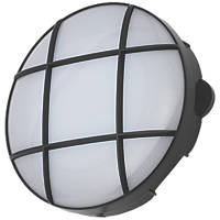 Coast CZ-34025-BLK Round LED Bulkhead Black 15W
