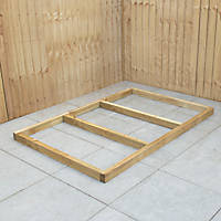Forest Shed Base Self-Assembly 6' x 4'
