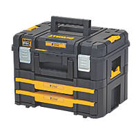 DeWalt TSTAK 2.0 Tool Storage with 2 Shallow Drawers