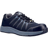 Amblers AS717C   Safety Trainers Black Size 4