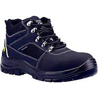 Skechers Trophus Letic   Safety Boots Black Size 8