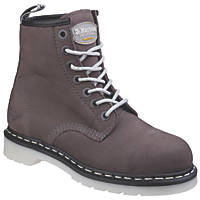 Dr Martens Maple  Ladies Safety Boots Grey Size 4