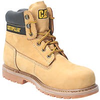 CAT Achiever   Safety Boots Honey Size 8