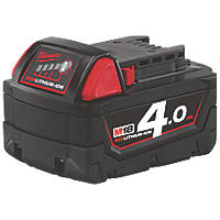 Milwaukee M18B4 18V 4.0Ah Li-Ion RedLithium Battery