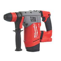 Milwaukee M18 CHPX-0 FUEL 4.6kg 18V Li-Ion RedLithium Brushless Cordless SDS Plus Hammer Drill - Bare