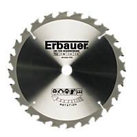 Erbauer TCT Circular Saw Blade 36T 160 x 16mm