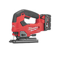 Milwaukee M18 FJS-502X FUEL 18V 5.0Ah Li-Ion RedLithium Brushless Cordless Jigsaw