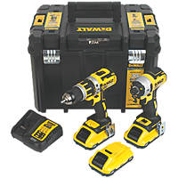 DeWalt DCK2510L3T-GB 18V 3.0Ah Li-Ion XR Brushless Cordless Twin Pack