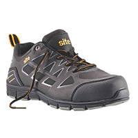 Site Crater   Safety Trainers Black Size 7