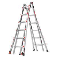Little Giant Velocity 4-Section Aluminium Multi-Purpose Ladder  6.90m