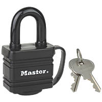 Master Lock 7804EURD Steel Laminated Padlock 40mm