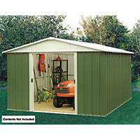 "Yardmaster  Sliding Door Apex Shed  9' 6 x 7' 6"" (Nominal)"
