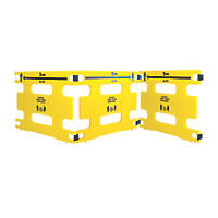 Addgards Keep Your Distance Safety Barrier Yellow / Black 3 Pack