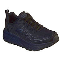 Skechers Max Cushioning Elite Sr Metal Free Ladies Non Safety Shoes Black Size 8