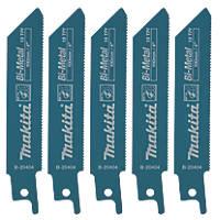 Makita  B-20404 Reciprocating Saw Blades 100mm 5 Pack