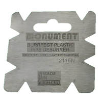 Monument Tools Internal & External Plastic Pipe Deburrer 19, 32, 38 & 51mm