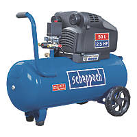 Scheppach HC54DC 50Ltr Electric Twin Cylinder Air Compressor 230V