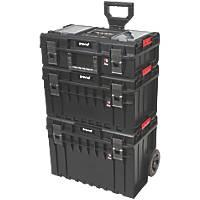 Trend  Modular Storage Pro Cart Set 3 Pcs